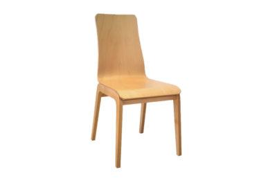 Stolička AUBURN celá z dreva.