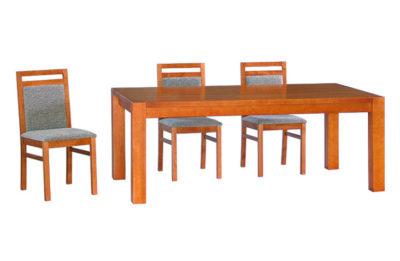 Vďaka výnimočnej stabilite a výraznému prvku nohy prechádzajúcej cez stolový plát sa stal Kubis jedným z našich najpredávanejších modelov.