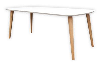 Polar je jedálenský stôl s tradičným škandinávskym dizajnom.