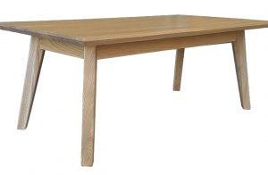 Štýlový celomasívny spoločenský stôl Premier.