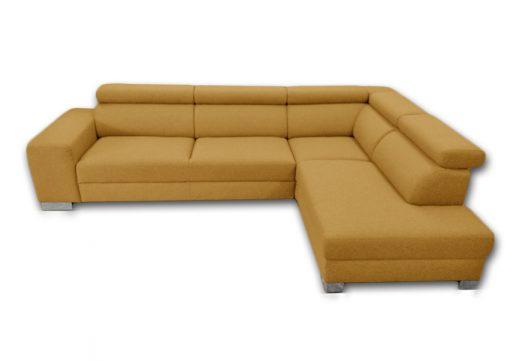 Trendová sedačka HOUSTON s nastaviteľnými opierkami hlavy, komfortnou funkciou spania, ako aj s úložným priestorom.